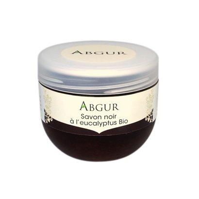Abgur Savon noir à l'eucalyptus bio 200 g