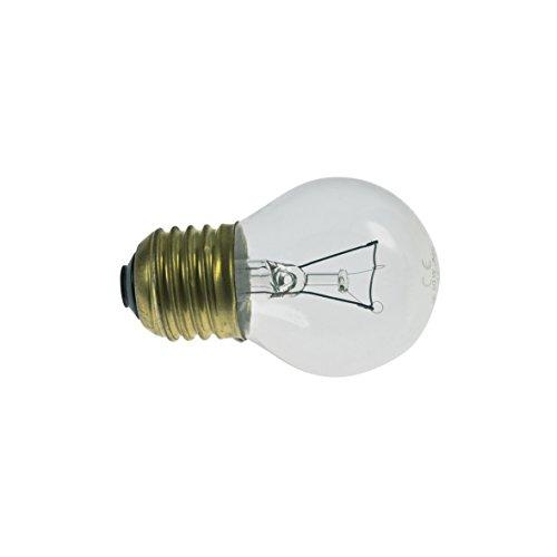 AEG Electrolux 5027991600 50279916006 ORIGINAL Lampe Leuchte Glühbirne E27 40W 45mmØ 71mm 230V Kugelform bis 300° C Dunstabzugshaube auch Zanussi GE GeneralElectric 12515