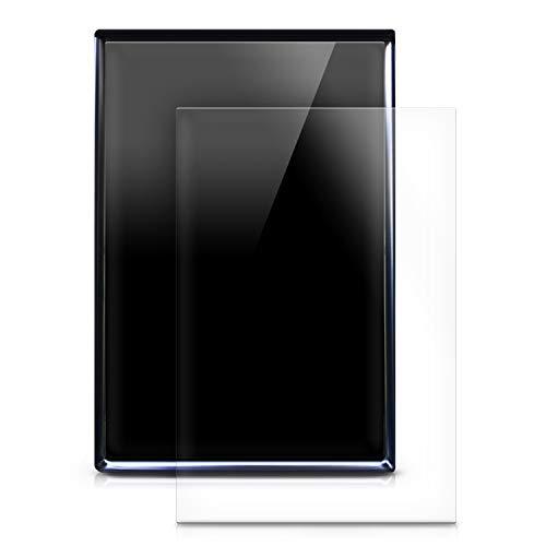 kwmobile 2X Navi Folie kompatibel mit Tesla Model S - Display Schutzfolie für Festeinbau-Navigationsgerät - Displayfolie transparent