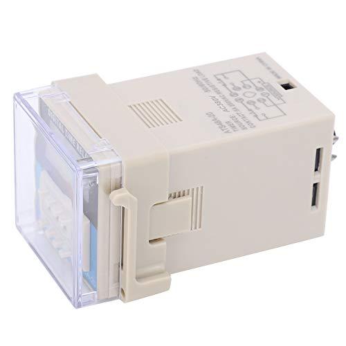 Modo de control flexible Pantalla digital LED Relé de tiempo Rendimiento antiinterferente fuerte Relé de tiempo de retardo del ciclo ATS48A-20 para módulo de relé(AC380V)