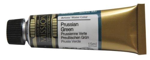 Mijello Mission Gold Class Water Color, 15ml, Prussian Green