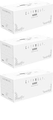 【まとめ割】スコッティ カシミヤ ティシュー 高品質 440枚(220組)× 3箱