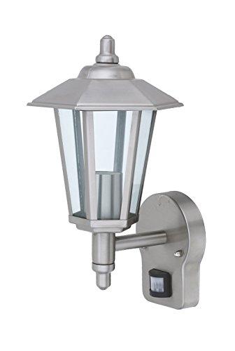 Außenleuchte E27 Edelstahl Lampe Wandleuchte Außenlampe Gartenlampe LED Leuchte (Wandlampe Kandelaber BWG)