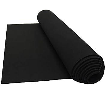 Lazy Dog Warehouse Neoprene Sponge Foam Rubber Sheet Rolls 15in x 60in  1/8in Thick