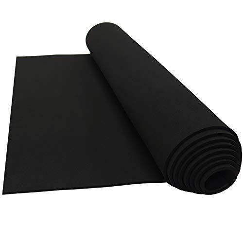Lazy Dog Warehouse Neoprene Sponge Foam Rubber Sheet Rolls 15in x 60in (1/8in Thick)
