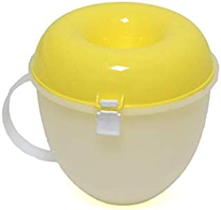 Microwave Popcorn Maker - Yellow