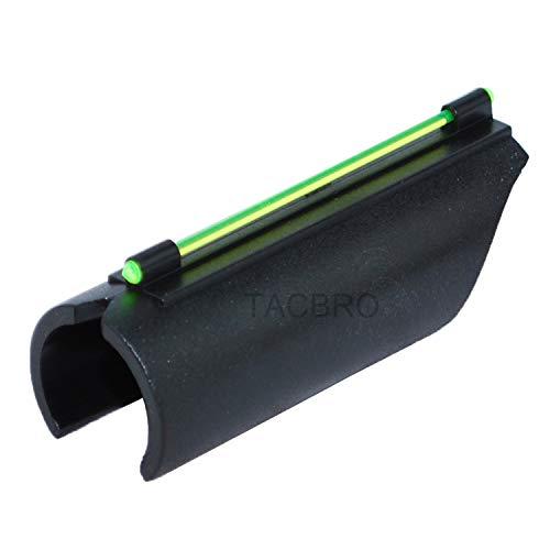 TACBRO Universal Mossberg Remington 12GA / 20GA Green Shotgun Fiber Optic Front Sight