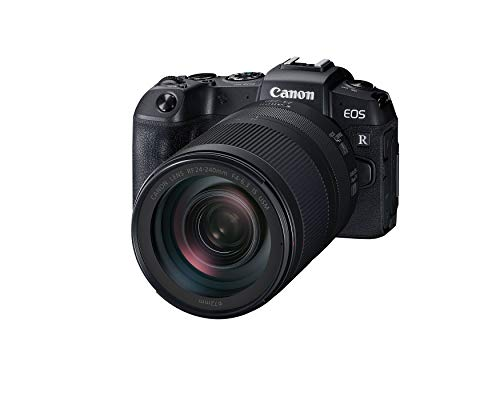 Canon EOS RP Full-frame Mirrorless Interchangeable Lens Camera + RF 24-240mm F4-6.3 IS USM Lens Kit, Black, Model Number: 3380C032