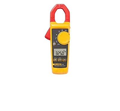 Fluke 400A AC/DC, 600V AC/DC TRMS Clamp Meter with Frequency, Temp, & Capacitance Measurements with a NIST-Traceable Calibration Certificate with Data