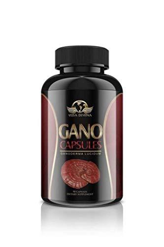 King of Herbs,Vidadivina's Popular'' Gano'' 90 Capsules 500 MG