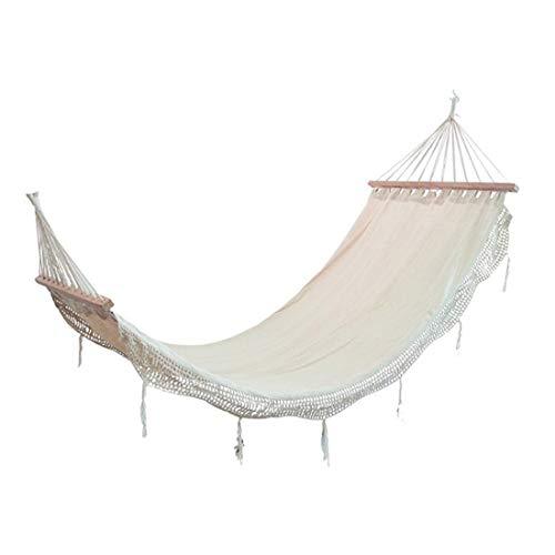 Outdoor-Produkte Multifunktions Outdoor Freizeit Spitze Camping Schlinge Bett Hängematte Outdoor und Indoor Doppel Menschen Strand Ultraleicht Camping Überschlag Prävention Schaukel ( Size : 200cm )