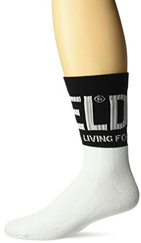 Diesel Herren SKM-RAY Crew Socken, weiß, Medium