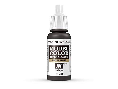 Farbe Vallejo Model Color 70822 German Cam.Black Brown (17ml)