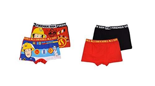 Feuerwehrmann-Sam Unterhose Boxershort 2er Set, Motiv:Motiv 1, Größe:116-128