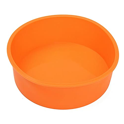 Round Silicone Cake Mold Pan Muffin Chocolate Pizza Pastry Baking Tray Mould Baking provides Baking sheet Baking pan Baking set Cake pan Bakeware units Baking pans Baking pans set