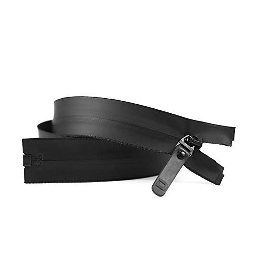 THNQ 5# nylon onzichtbare waterdichte rits jas donsjacks outdoor jassen tent ski brand kleding rits 60cm / 70cm / 80cm (Color : Black, Size : 80cm)