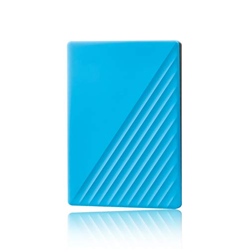 HDD External Hard Drive 5tb, 2.5 Inches Usb 3.0 Portable Backup Storage, Suitable for Pc, Desktop, Laptop, Mac, Macbook, Xbox One, Ps4, Smart Tv (Capacity : 4TB, Color : Blue)