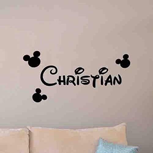 Tatuajes de pared, pegatinas de vinilo, decoración para bebés, dormitorio, pintura de pared, pegatinas murales, decoración del hogar, pegatinas de pared42x84cm