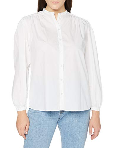BOSS Damen C_Bipirat Bluse, White100, 38