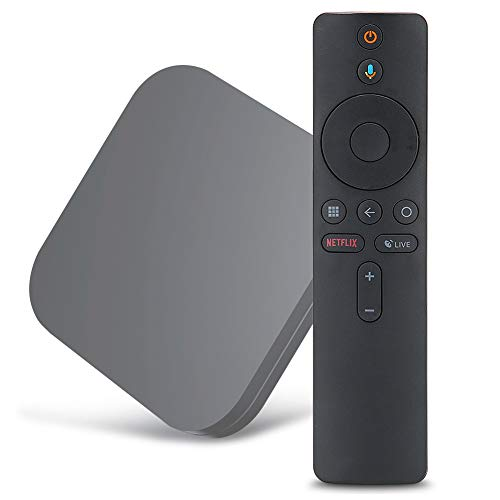 Mando a distancia de voz Bluetooth de repuesto para TV de voz inteligente compatible con Xiaomi Mi Box S TV