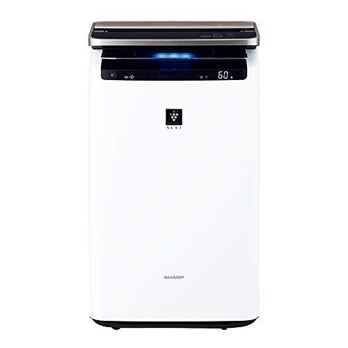 シャープSHARP加湿空気清浄機[適用畳数:46畳/最大適用畳数(加湿):26畳/PM2.5対応]ホワイト系KI-NP100-W[適用畳数:46畳/最大適用畳数(加湿):26畳/PM2.5対応][加湿器空気清浄機]