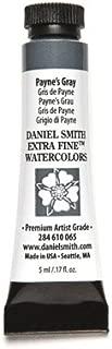 DANIEL SMITH 284610065 Extra Fine Watercolors Tube, 5ml, Payne's Gray