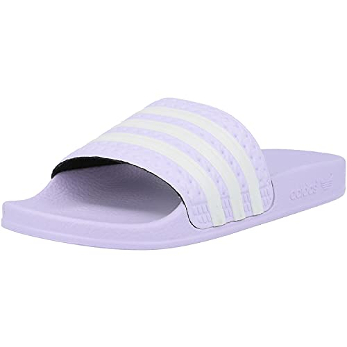 adidas Damen Adilette Slide Sandal, Violett (Purple Tint/Footwear White/Purple Tint), 39 1/3 EU/6 UK