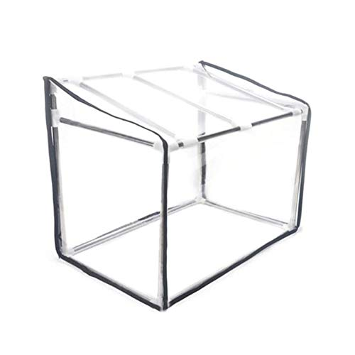 wenhe Mini Portable Garden Greenhouse, Reinforced Growhouse, Flowerpot Cover Shelter With Stainless Steel Frame For Gardens, Yards, Balconies