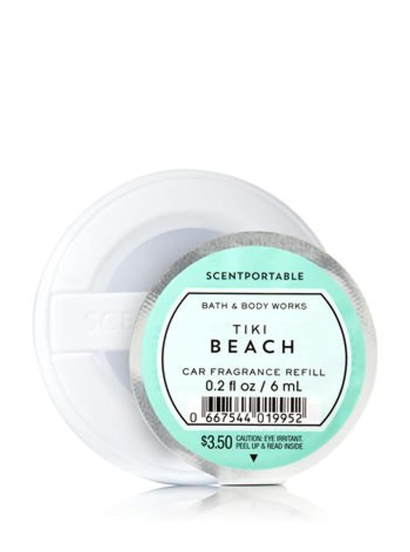 ぐるぐる世界的にコンクリート【Bath&Body Works/バス&ボディワークス】 クリップ式芳香剤 セントポータブル詰替えリフィル ティキビーチ Scentportable Fragrance Refill Tiki Beach [並行輸入品]