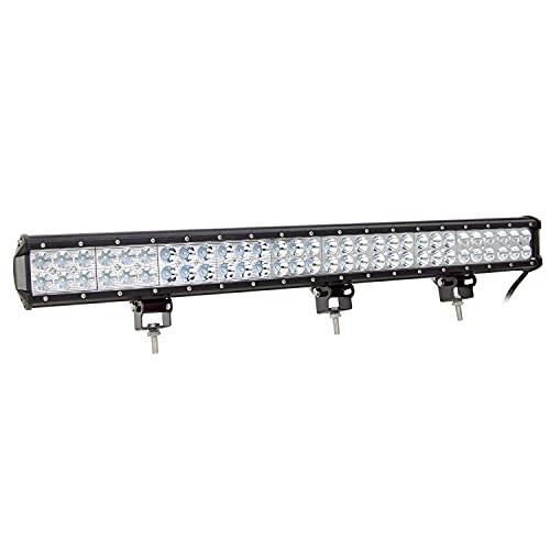 Auxtings 28 pulgadas 180W Barra de luz antiniebla, de varios tamaños y potencias, para todoterreno o camión