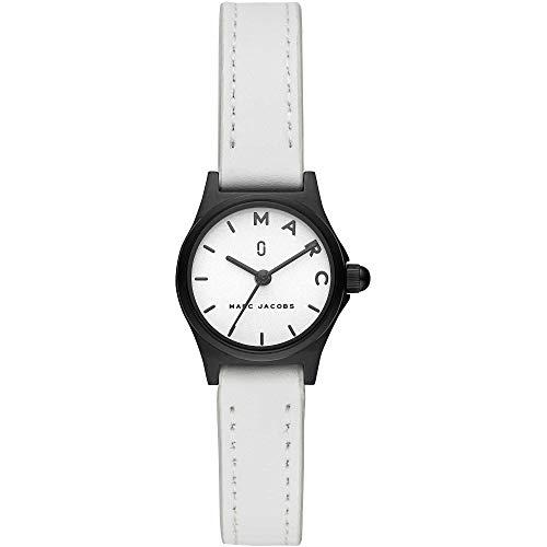 Marc Jacobs Damen-Uhren Analog Quarz One Size Weiß Leder 32001385