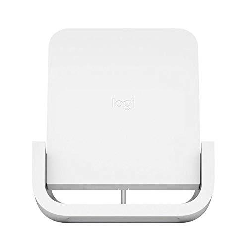 Logitech Powered – Kabellose Ladehalterung + Netzadapter – 7,5 Watt – Weiß – Europa