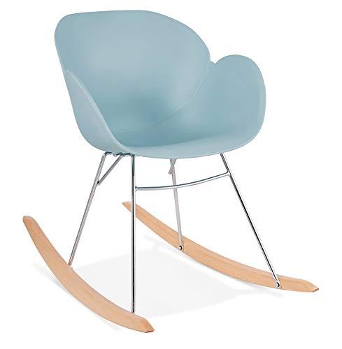 MK Mecedora diseño Silla Polipropileno Edén (Cielo Azul)