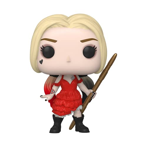 Funko 56016 POP Movies The Suicide Squad, Harley Damaged Dress