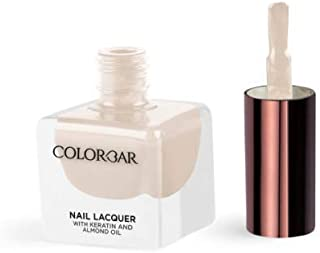 Colorbar Nail Lacquer With Keratin And Almond Oil 807 Peek-A-Boo