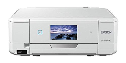 EPSON プリンター インクジェット複合機 カラリオ EP-808AW ホワイト