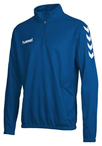 hummel Core 1/2 Zip Sweatshirts, Unisex Adulto, Azul, M
