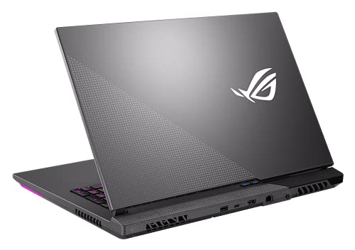 CUK ASUS ROG Strix G17 Inch Gaming Laptop (AMD Ryzen 9, 32GB RAM, 1TB NVMe SSD, NVIDIA GeForce RTX 3070 8GB, 17.3-inch, WQHD - 165Hz Display, Windows 10 Home) Gamer Notebook
