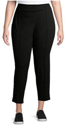 Terra & Sky Black Soot Plus Size Millennium Slim Leg Dress Pants Terra & Sky  via @amazon
