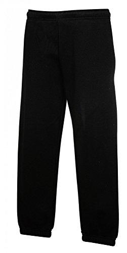 Fruit of the Loom: Kids` Jog Pants 64-051-0, Größe:152 (12-13);Farbe:Black