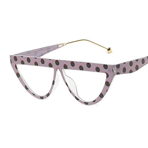 HAOMAO Diseñador de la Marca Retro Frame Vintage Cat Eye Gafas de Sol para Mujer Dottrans