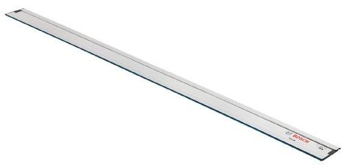 Bosch Professional Führungsschiene FSN 2100 (2,100 mm Länge, kompatibel mit allen Bosch GKS Professional Kreissägen, GKS G und GKT Tauchsägen, bestimmte GST Stichsägen und GOF Fräsen mit Adapter)