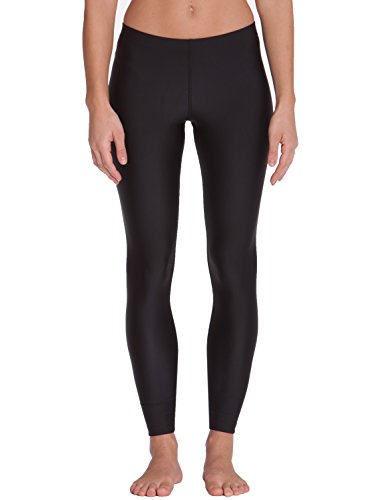 iQ-UV Damen Leggings UV 300 Watersport, black, M (40)
