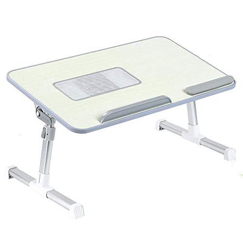 Mesa De Cama para Portátil Ajustable Mesa Plegable Ordenador Escritorio Bandeja De Sofá para Desayuno Tamaño: 50 * 30 * 9 Cm