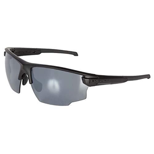 Endura Singletrack - Gafas de sol (talla única), color negro