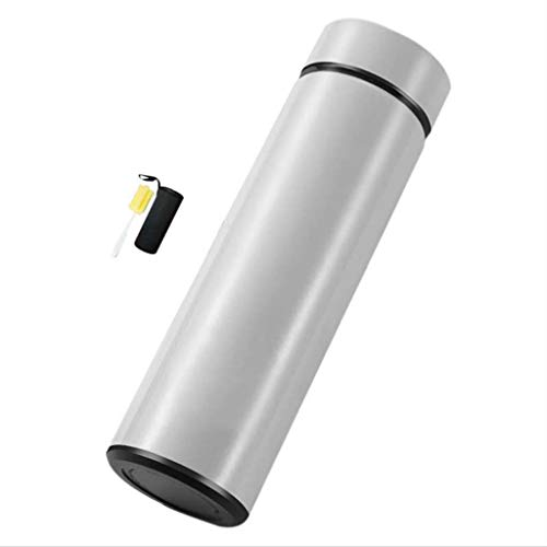 BWBZ 304 Edelstahl-Isolierflasche Kaffee-Thermoskanne Silikonring 360 ° Auslaufsicher, Geruchsneutral Verschleißfeste Tasse Boden Geeignet Für Den Außenbereich Innenbereich