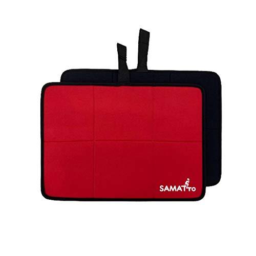 SAUNOI 折り畳み サウナマット SAMATTO(サマット) レッド×ブラック