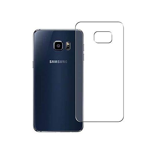 Vaxson 2 Unidades Protector de pantalla Posterior, compatible con Samsung Galaxy S6 edge plus Edge+ [No Vidrio Templado] TPU Película Protectora Espalda Skin Cover
