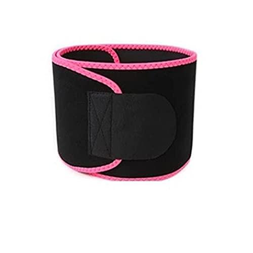 Sauna de Neopreno Cinturón de Adelgazamiento Ajustable Cinturón Ajustable Cintura Cintura Traisor Cuerpo Shaper Gaine Vent Eling Slimming Cinturón Corsé Cinturón (Color : Pink, Size : XL) ⭐