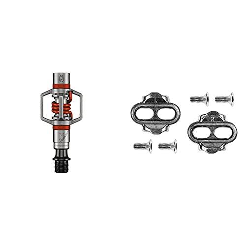 Crank Brothers Eggbeater 3 Pedali, 2 Pezzi & Brothers Tacchetti Zero Float per Pedali Nuovi